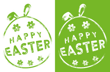 Rubber Stamp - HAPPY EASTER