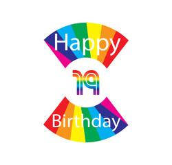 19 happy birthday