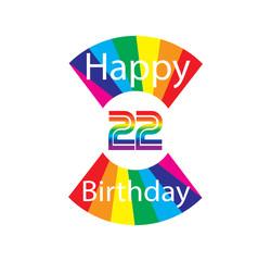 22 happy birthday