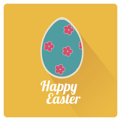 easter Vector with texture background