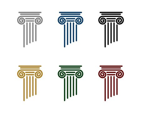 Pillar Logo for Law Office