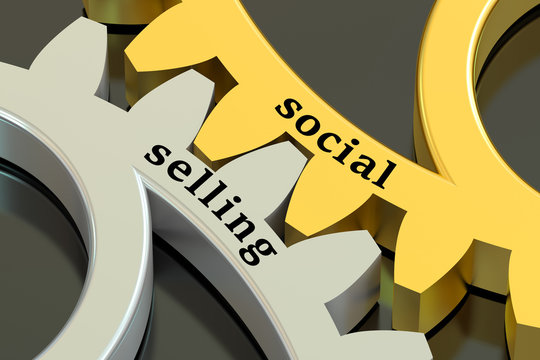 social selling concept