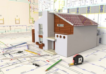 House Layout And Architectural Drawings