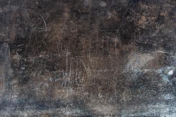 Texture of old wall. Roman Catholic Church close up