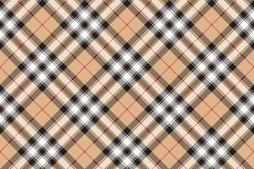 Pride of scotland gold tartan fabric texture diagonal seamless p