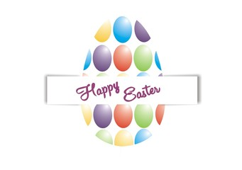 Colorful Easter Greeting
