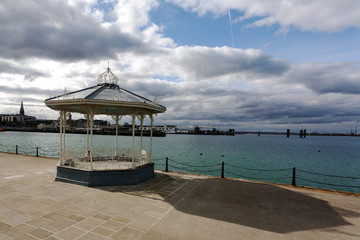 Bandstand on Dun Laoghaire Pier