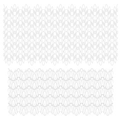 Guilloche Background Pattern For Certificate Vector Illustration,