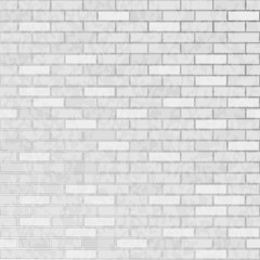 Seamless background white brick