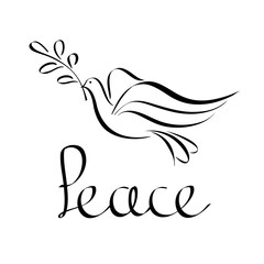 Peace Icon Abstract.