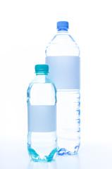 Soda water bottles