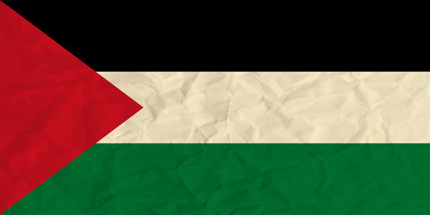 State of Palestine  paper  flag