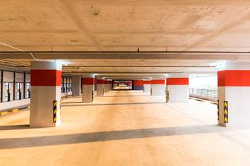 Parking garage, interior