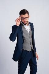 Studio photo Man in suit