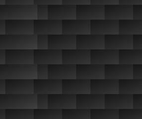 Repeatable black and white pattern with rectangle shapes. Lamell
