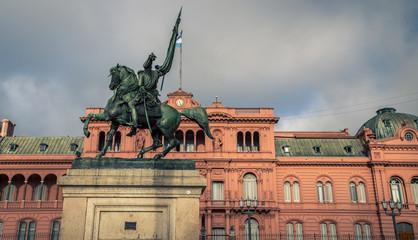 General Manuel Belgrano statue