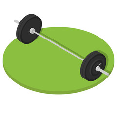Isometric Gym barbell