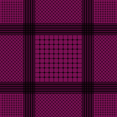 Violet keffiyeh for men the middle East. Vector template.