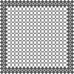 Black and white keffiyeh for men the middle East. Vector templat
