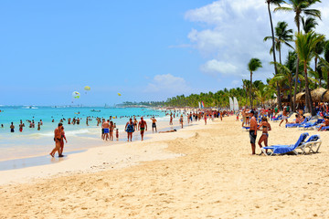 Punta Cana beach.
