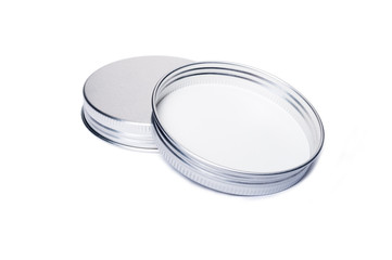 New aluminum caps or lids for jars