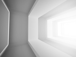 Abstract Architecture Tunnel Column Background