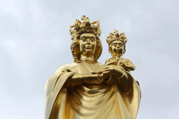 Our Lady of Marija Bistrica, basilica Assumption of the Virgin Mary in Marija Bistrica, Croatia