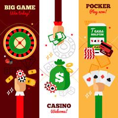 Casino Design Concept Banners