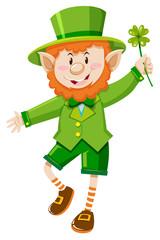 Leprechaun on St Patrick day