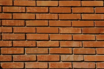 Fototapeta Mur z cegły czerwonej
