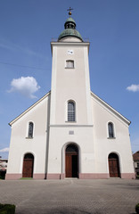 The parish church of the Holy Trinity in Donja Stubica, Croatia