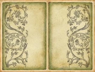 Cartouches set art illustration