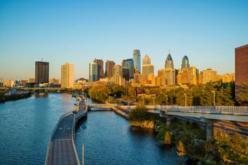 Downtown Skyline of Philadelphia