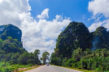 Rural Thai road