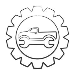 Logo car service.