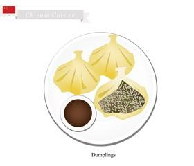 Xiao Long Bao or Chinese Soup Dumplings