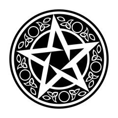 Vector Wiccan Talisman