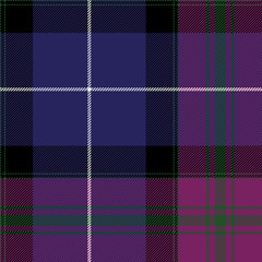 Pride of scotland tartan fabric texture seamless pattern