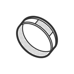 Medical Device Icon, Diabetes Watch design