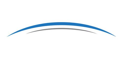 swoosh curve