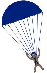 Kippy skydiving