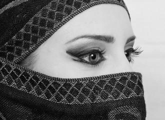 muslim girl eyes