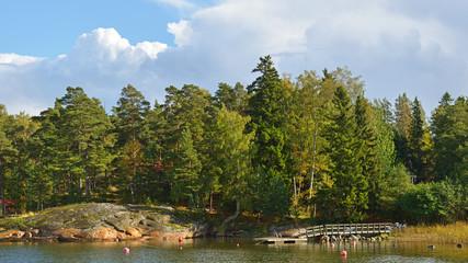 Islands Helsinki. Finland