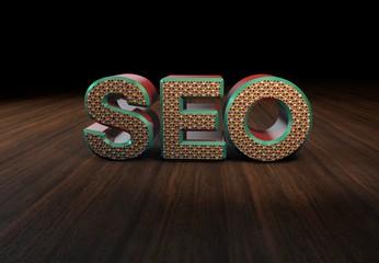 SEO, 3D Typography