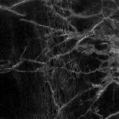 Black marble texture background pattern.