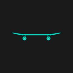 icon of skateboard