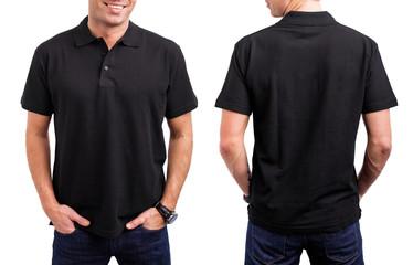 Man's black T- shirt