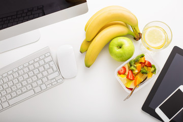 Healthy snacks at office