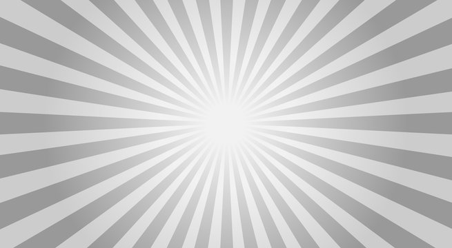 Abstract sunbeams background - vector illustration.