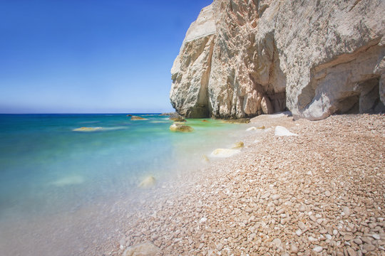 Nice beach at Zakynthos